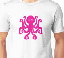 Octopus, hot pink (magenta) Unisex T-Shirt