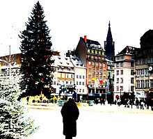 Strasbourg - here we are in Christmas land by deThierry