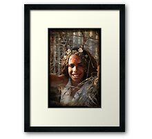 joy 10 Framed Print