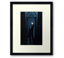 Consulting the Crystal Framed Print