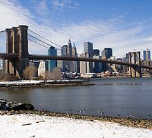 Brookyn Bridge by gleadston