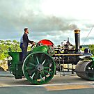 Steam Road Roller by magicaltrails