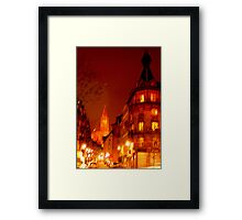 "look to ""Our Lady of Strasbourg""  Framed Print"