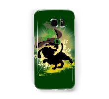 Super Smash Bros. Yellow Duck Hunt Dog Silhouette Samsung Galaxy Case/Skin