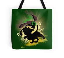 Super Smash Bros. Yellow Duck Hunt Dog Silhouette Tote Bag