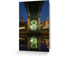 Underneath The Tyne Bridge Greeting Card