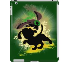 Super Smash Bros. Yellow Duck Hunt Dog Silhouette iPad Case/Skin