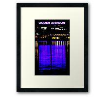 Purple Armour Framed Print
