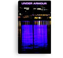 Purple Armour Canvas Print