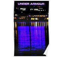 Purple Armour Poster