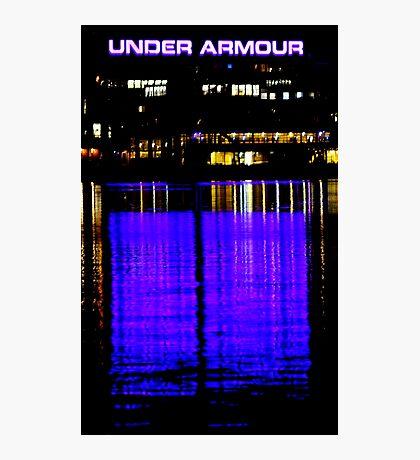 Purple Armour Photographic Print