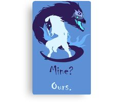 Kindred - Mine? Ours. Canvas Print
