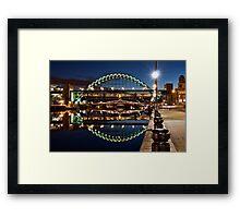 Tyne Bridge At Newcastle Framed Print