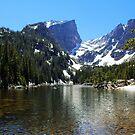 High mountain lake, Colorado by Claudio Del Luongo