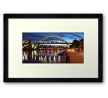 Newcastle Riverside Framed Print