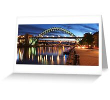 Newcastle Riverside Greeting Card