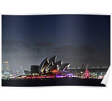 Opera House new years eve Poster