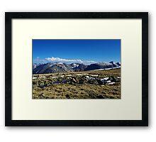 High Rockies, Colorado Framed Print