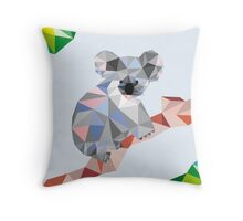 Mr Koala  Throw Pillow