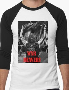Team War Beaver Men's Baseball ¾ T-Shirt