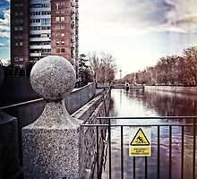 Rio Manzanares, Madrid, Spain by Wendy  Rauw