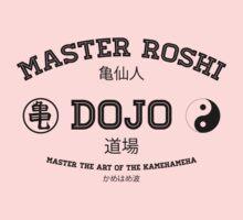 Master Roshi Dojo v1 Kids Clothes