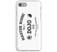 Master Roshi Dojo v1 iPhone Case/Skin