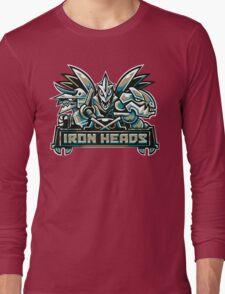Team Steel Types - Iron Heads Long Sleeve T-Shirt