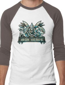 Team Steel Types - Iron Heads Men's Baseball ¾ T-Shirt