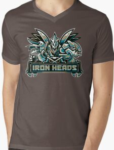 Team Steel Types - Iron Heads Mens V-Neck T-Shirt