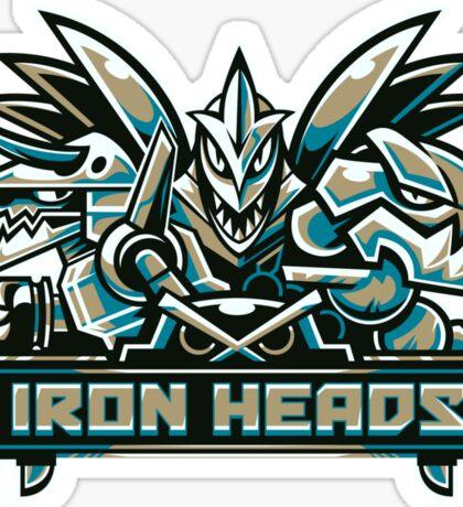 Team Steel Types - Iron Heads Sticker