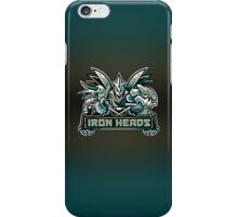 Team Steel Types - Iron Heads iPhone Case/Skin
