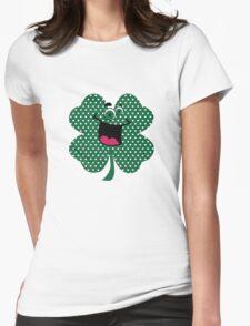 Retro Dots Cartoon Comic Shamrock T-Shirt T-Shirt
