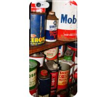 Antique Oil Cans iPhone Case/Skin