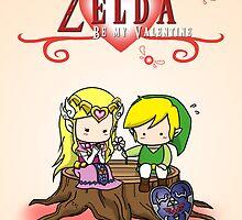 The Legend of Zelda : Valentine's day by nipponolife