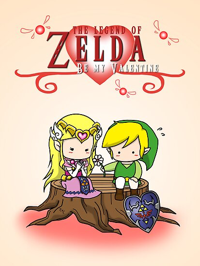 The Legend of Zelda : Valentine's day by nipponolife