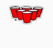 Beer Pong Cutout Unisex T-Shirt