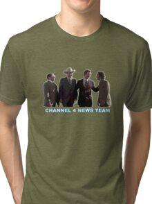 Anchorman - Channel 4 News Team Tri-blend T-Shirt