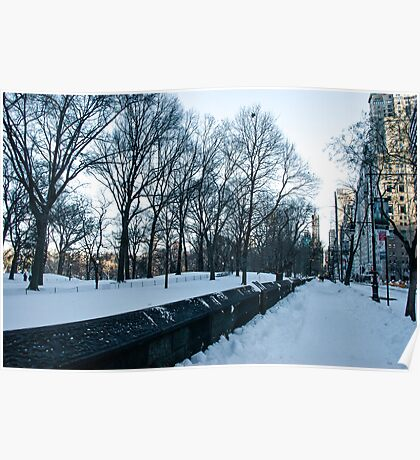 New York Winter Poster