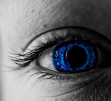 Blue Eyes... by Danny  Young