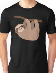 Cute Sloth on a Branch Unisex T-Shirt