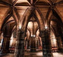 Cloisters || Glasgow Cathedral, Glasgow by Anir Pandit