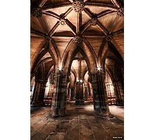 Cloisters || Glasgow Cathedral, Glasgow Photographic Print
