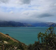 """ Lake Wakatipu "" by terryfellows"