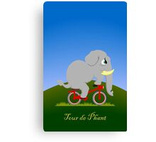 Tour de Phant Canvas Print