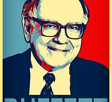 Warren Buffett  Hope Poster by Adam Asar