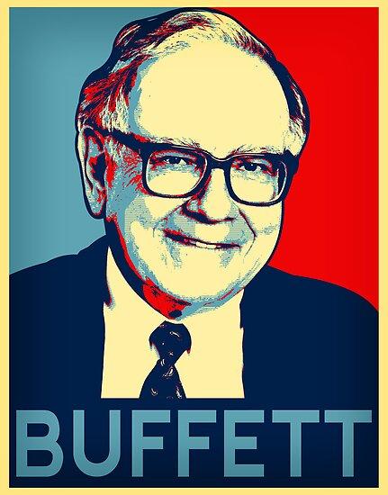 Warren Buffett  Hope Poster by Adam Asar