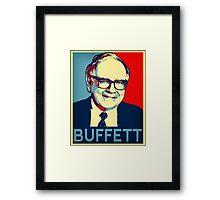 Warren Buffett  Hope Poster Framed Print