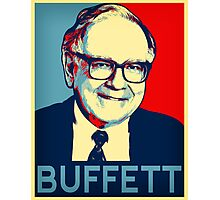 Warren Buffett  Hope Poster Photographic Print