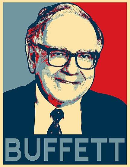 Warren Buffett by Adam Asar